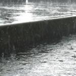 Concepto del sistema de agua lluvia